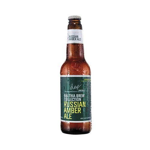 Cerveja Russa Baltika Amber Ale 440ml