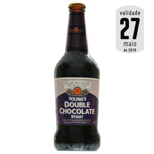 Cerveja Young's Double Chocolate Stout 500ml