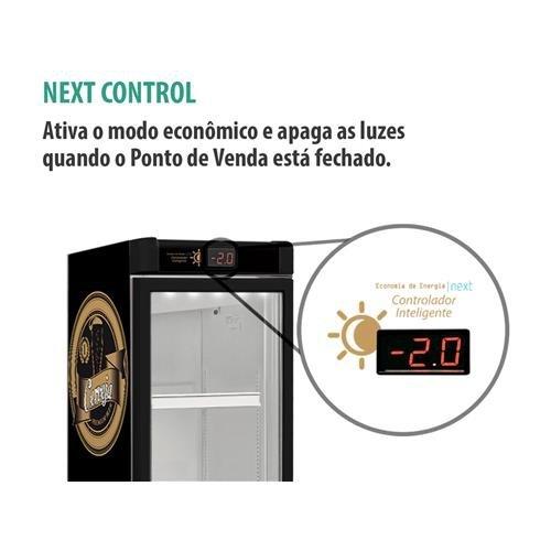 Cervejeira/Expositor Vertical Metalfrio 296L - Frost Free VN28RL 1 Porta