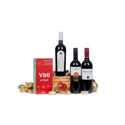 Cesta Vinhos da Itália - Casa Rio Verde