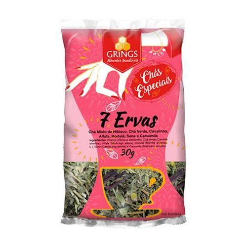 Chá 7 Ervas 30g - Grings