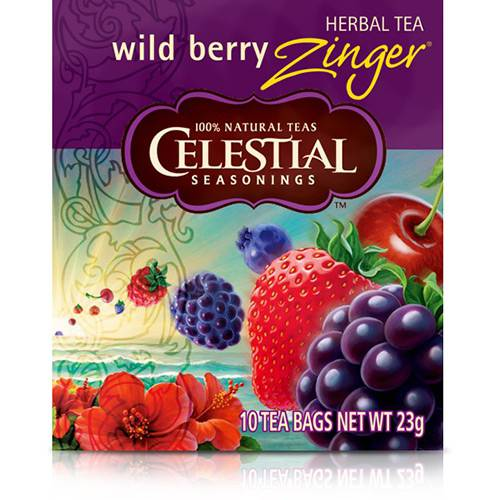 Chá Ame Wild Berry Zinger (10 Unid) - Celestial