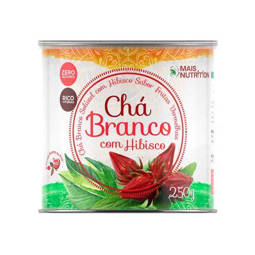 Chá Branco com Hibisco - Mais Nutrition - 250g