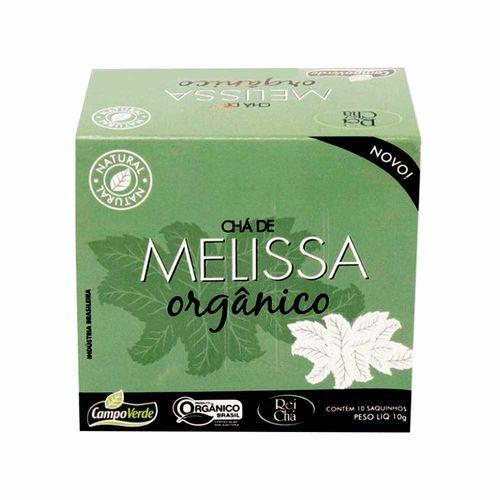 Chá de Melissa Orgânica - Campo Verde - 10 Sachês de 1g