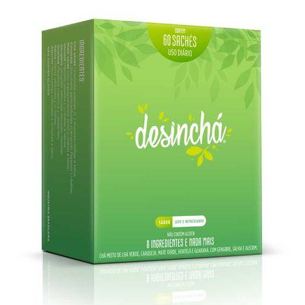 Chá Desinchá 60 Sachês de 90g Cada