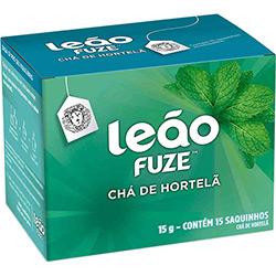 Chá Hortelã C/ 15 Sachês 15g - Chá Leão