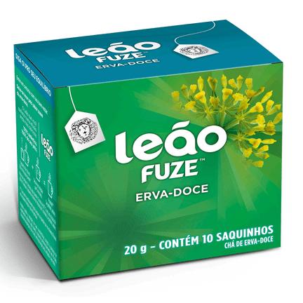 Chá Leão de Erva Doce com 10 Sachês