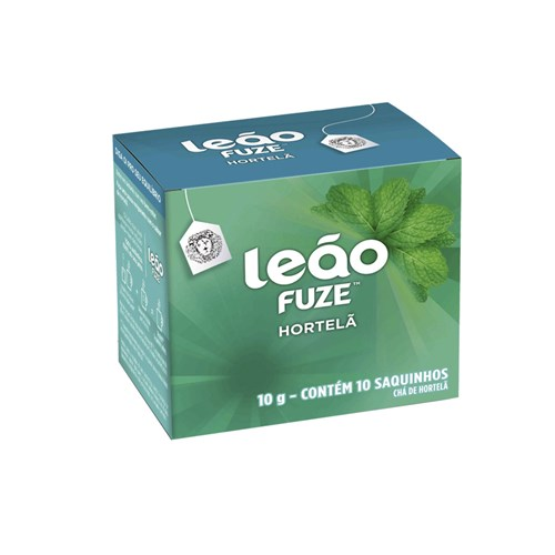 Chá Leão Fuze Hortelã 10 Saquinhos