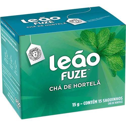 Chá Leão Fuze Hortelã (15 Saquinhos)