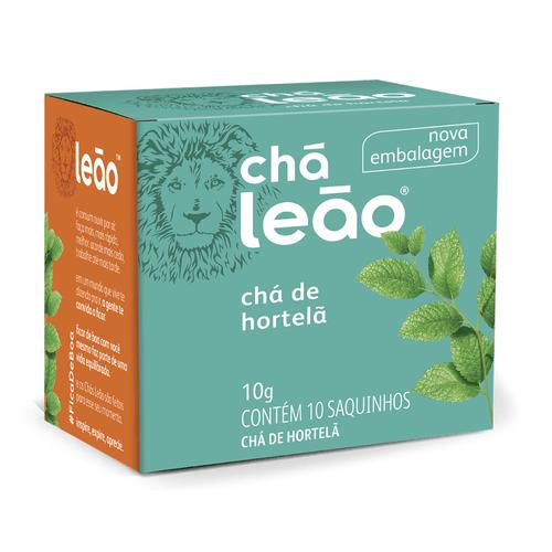 Chá Leão - Hortelã 10 Sachês