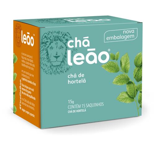 Chá Leão Hortelã 15 Sachês