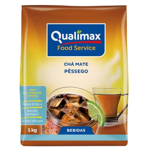 Chá Mate Pêssego Solúvel Qualimax 1 Kg