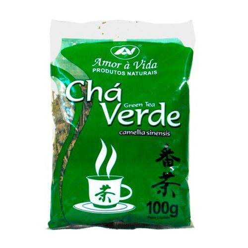 Chá Verde Amor a Vida 100g