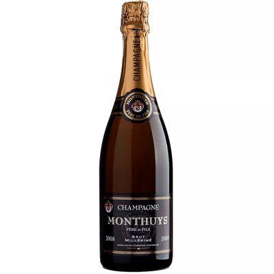 Champagne Monthuys Millésimé Brut 2008