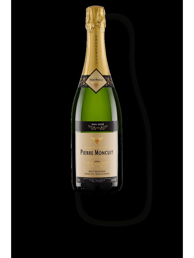 Champagne Pierre Moncuit Blanc de Blancs Grand Cru Cuvée Millesimée Brut Non Dosé 2006