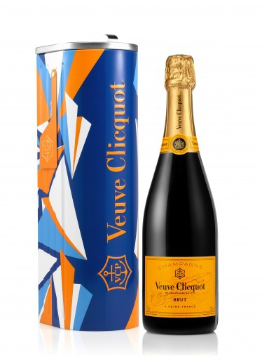 Champagne Veuve Clicquot Brut Mailbox Eileen Ugarkovic