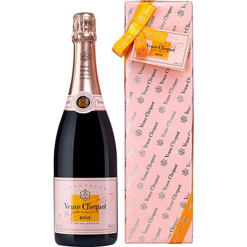 Champagne Veuve Clicquot Rosé 750 Ml Ready To Offer