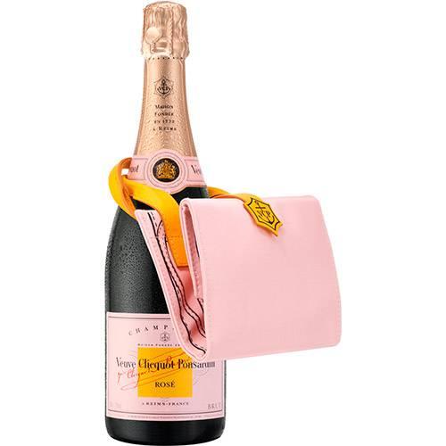 Champagne Veuve Clicquot Rosé 750 Ml Shopping Bag