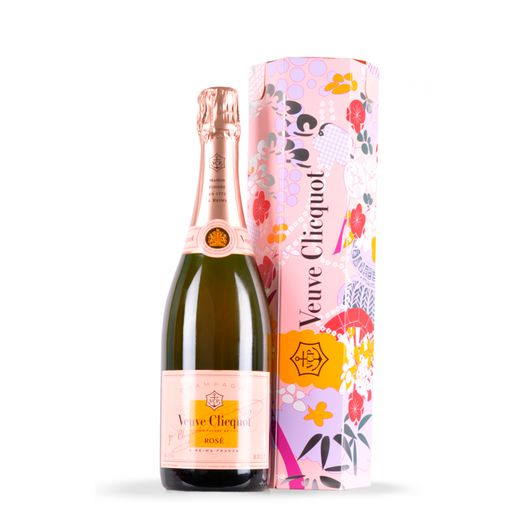 Champanhe Veuve Clicquot Shakkei Box Rose 750ml