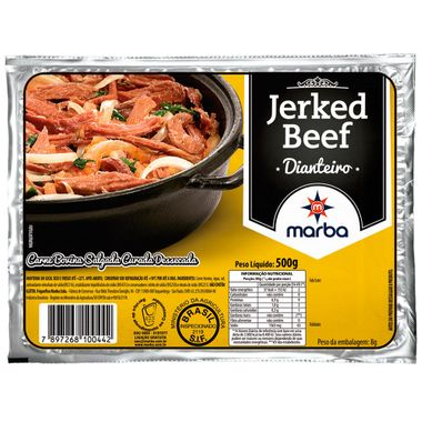 Charque Jerked Beef Marba 500g