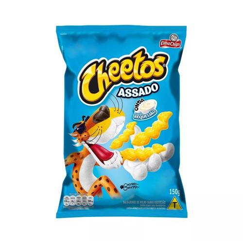 Cheetos Elma Chips Sabor Requeijão 150g
