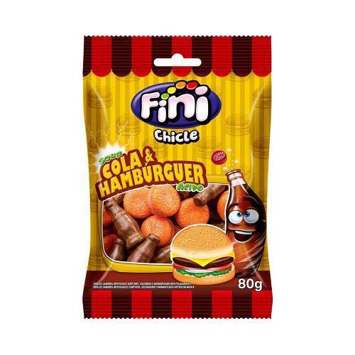Chicle Cola e Hambúrguer Fini - 80g