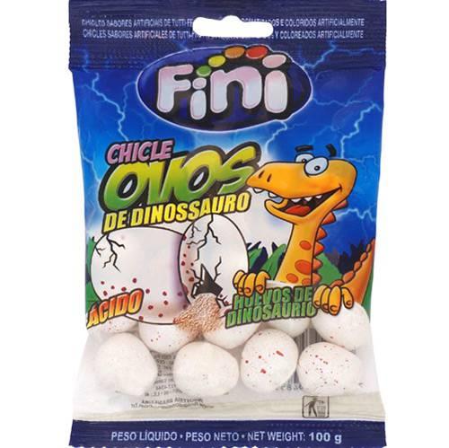 Chicle Ovo de Dinossauro 100g - Fini