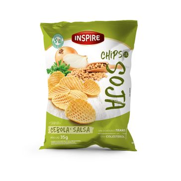 Chips Soja Inspire Cebola e Salsa 40g