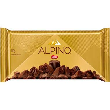 Chocolate Alpino Nestlé 100g