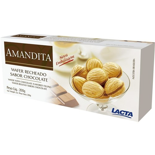 Chocolate Amandita 200G - Lacta