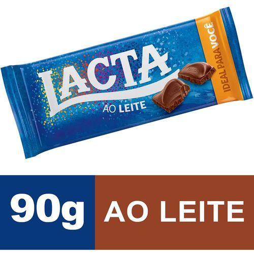Chocolate ao Leite Lacta 90g