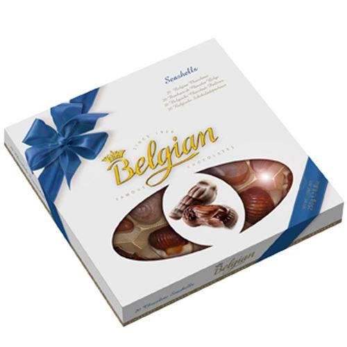 Chocolate Belga ao Leite Belgian Conchas do Mar 250g