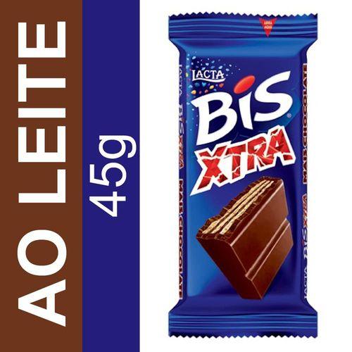 Chocolate Bis Xtra ao Leite Lacta 45g