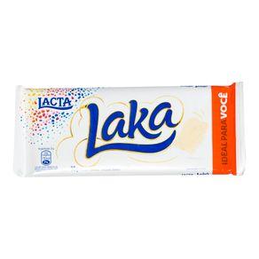 Chocolate Branco Laka Lacta 90g