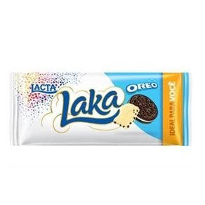 Chocolate Branco Laka Oreo Lacta 90g