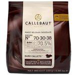 Chocolate Callebaut em Gotas Amargo (70-30-38) 70,5% Cacau 400g
