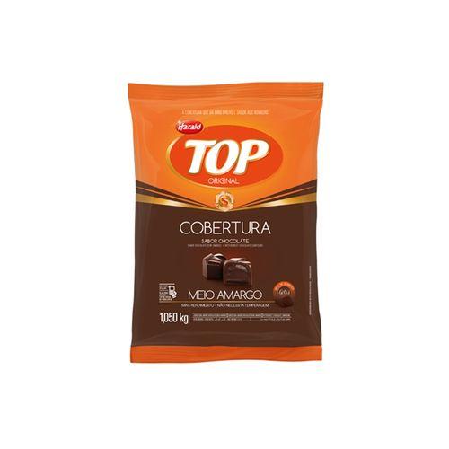 Chocolate Cobertura Gotas Meio Amargo 1,050kg Harald