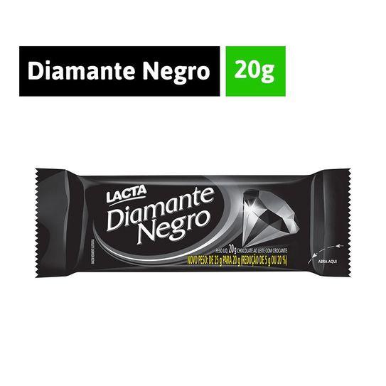 Chocolate Diamante Negro Lacta 20g