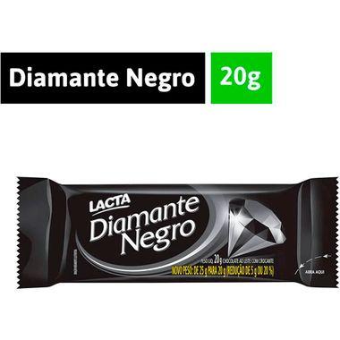 Chocolate Diamante Negro Lacta 20x20g