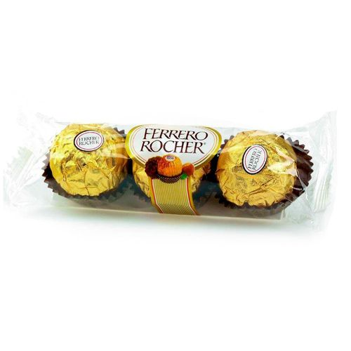 Chocolate Ferrero Rocher 3 Unidades