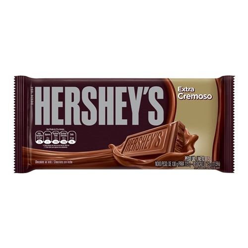 Chocolate Hershey's Extra Cremoso com 115g