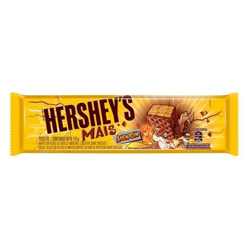 Chocolate Hershey's Mais Amendoim 115g