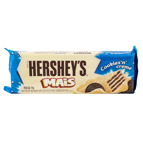 Chocolate Hershey's Mais Cookies'N'Creme com 115g