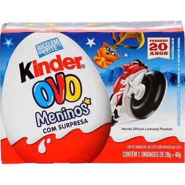 Chocolate Kinder Ovo Meninos T2X48