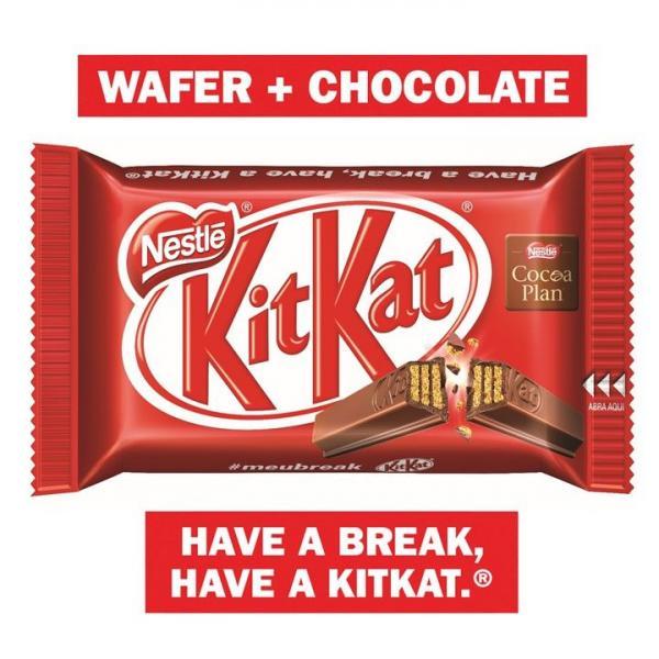 Chocolate Kit Kat ao Leite 45g - Nestlé