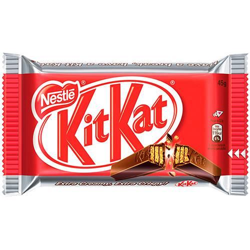 Chocolate Kit Kat Single 45g - Nestlé