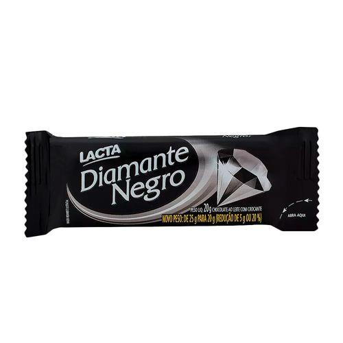 Chocolate Lacta Diamante Negro 20g