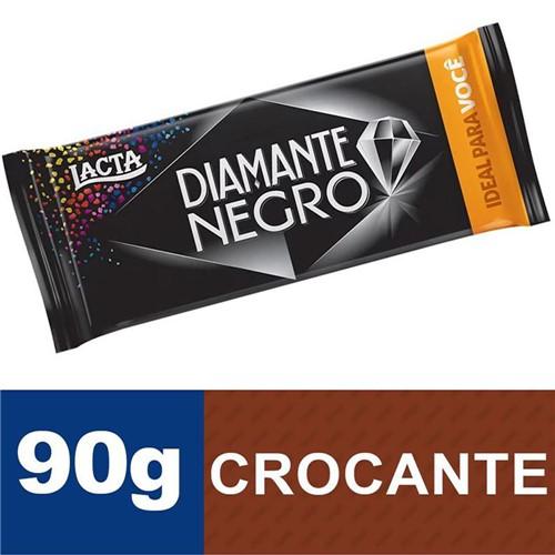 Chocolate Lacta Diamante Negro 90g