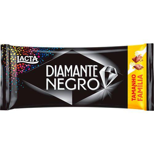 Chocolate Lacta Diamente Negro 165g