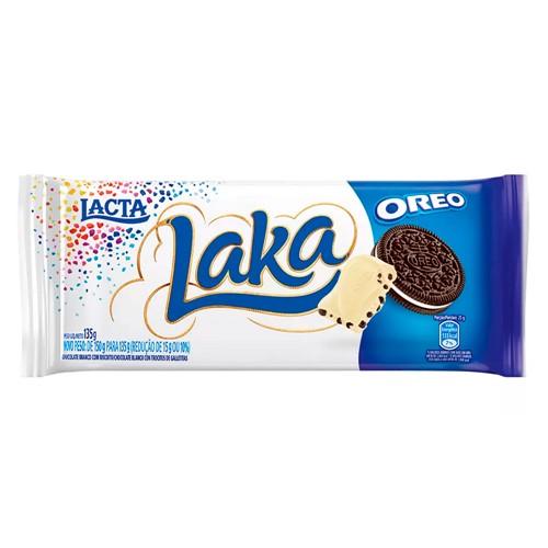 Chocolate Lacta Laka Oreo 135g